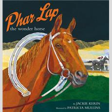 Image by Patricia Mullins,    http://museumvictoria.com.au/about/books-and-journals/books/childrens/back-list/phar-lap-the-wonder-horse/